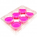 6 well Cell Culture Dishes, Sterile , Non Pyrogenic, TC treatment, 50 Pcs