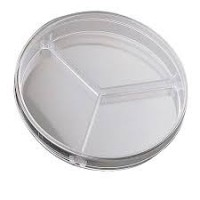 90 mm Petri Dish, 3 Compartments, Sterilized, Non-pyrogenic, 500 Pcs/ Case