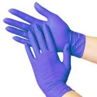 Nitrile Examination Gloves Powder Free , Medium, 10 x 100 Pcs/ Case